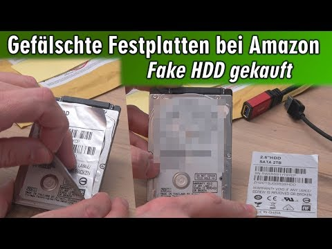 Gefälschte Festplatten bei Amazon 😬 Fake HDD gekauft ▪ 2TB zum günstigen Preis