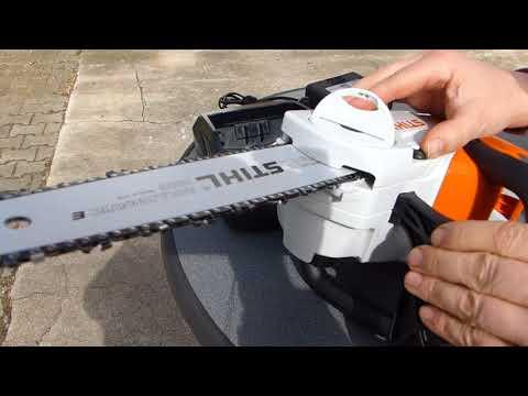 Stihl Akku Motorsäge MSA 120 C-BQ ausführlichst vorgestellt alles was du wissen musst