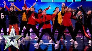 Fly Youth dance their way to a standing ovation! | Ireland's Got Talent 2019