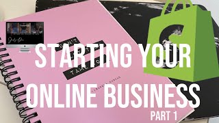 Tips/advice To Know Before Using SHOPIFY And Starting Your Online BUSINESS || PART 1