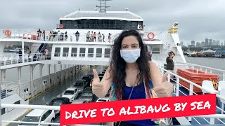 This Ship Is Bigger Than An Aeroplane & Can Carry 140 Cars and 500 Pax 😲  Mumbai To Alibaug