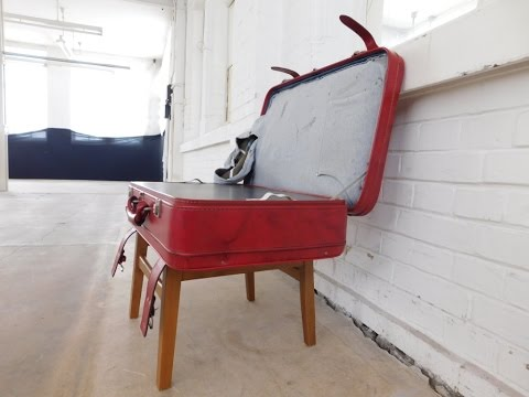 Multifunktioneller Hocker, Tisch, multi-purpose stool, table, pouffe, DIY, Upcycling, selber machen