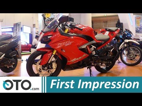 TVS Apache RR310 | First Impression | Kembaran BMW G310R | PRJ 2018 | OTO.com