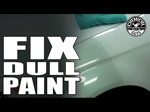 How To Make Dull White Paint Shine - Chemical Guys VSS Polish