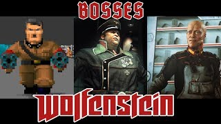 All Bosses of Wolfenstein (1992 - 2017) - dooclip.me