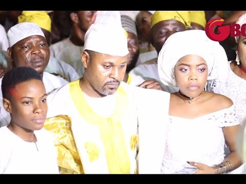 The Majestic Entry From Saheed Balogun & His Two Adorable Kids as King Waisu Ayinde Ushers Them In