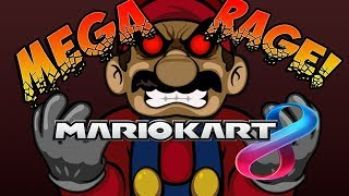 TRY NOT TO LAUGH! Mario Kart 8 Rage Montage!