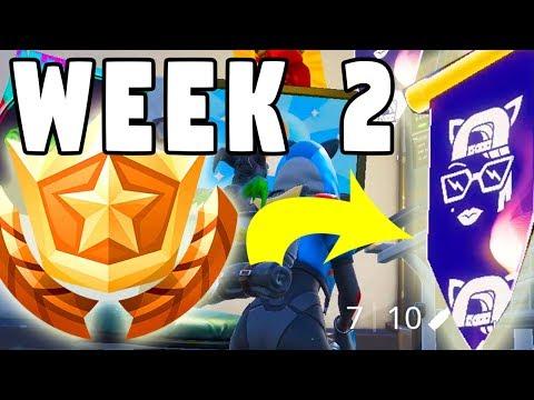 Week 2 Secret Battle Star Banner Fortnite Season 7 Sparckman