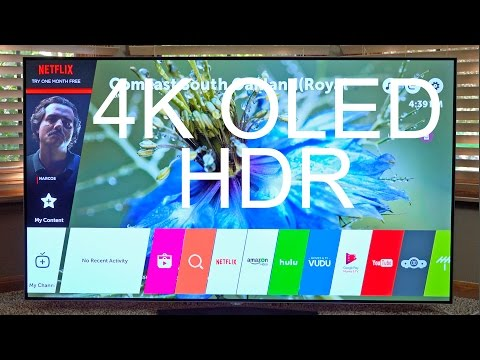 Best TV of 2016? LG 65″ 4K OLED + HDR: Unboxing & Review