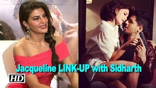 Jacqueline responds to LINK-UP with Sidharth