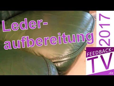 Ratgeber Lederaufbereitung: Aufbereitung Ledersofa / Ledersessel, Lederpflege, Lederreparatur