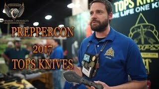 TOPS KNIVES PREPPERCON 2017