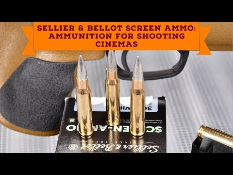 Sellier & Bellot: Sellier & Bellot Screen Ammo practical test: excellent ammunition for shooting cinemas –  non toxic and with no point of impact shift