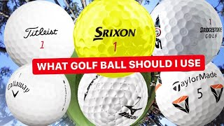WHAT GOLF BALL SHOULD I USE
