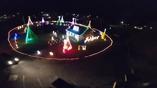 FPV Drone Flying Light&Dark Christmas Special! StingyV2 6S Quad Freestyle! Day&Night Rip at the Park