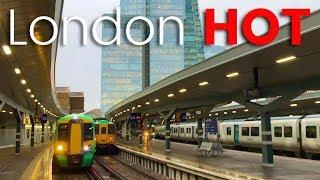 London Bridge Station's £1bn refit - 2018, ALL platforms open +Shard aerial time-lapse!