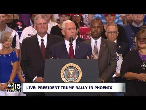 FULL: Vice President Mike Pence speaks at President Trump's Phoenix Rally
