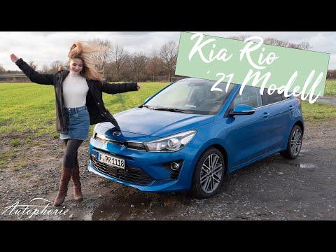 Larissa fährt den 2021 Kia Rio 1.0 T-GDI Schaltgetriebe (100 PS) Spirit [4K] - Autophorie