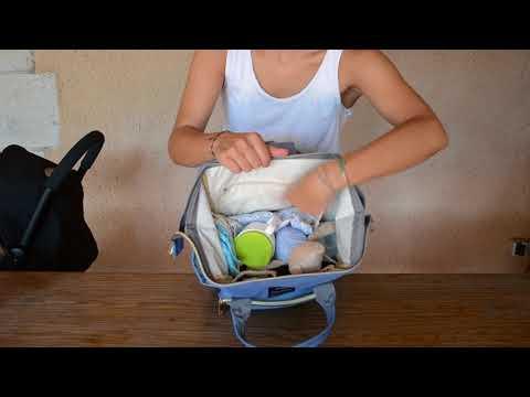 Bolso Maternal Pañales Bebé