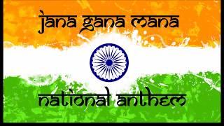 Jana Gana Mana | Full 5 Stanzas | Complete National Anthem of India