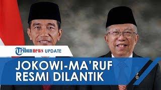 Joko Widodo & Ma'ruf Amin Resmi Jadi Presiden dan Wakil Presiden, Sumpah Jabatan Diucapkan Keduanya