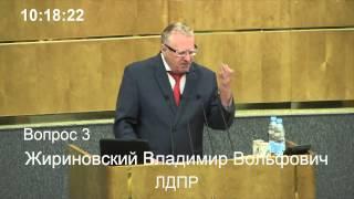 Жириновский: на Украине геноцид русских 04.07.2014