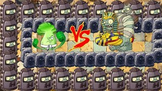 Pvz 2 - Snow Pea, Bonk Choy and Chomper vs Gargantuar