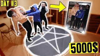 LAST PERSON TO LEAVE THE PENTAGRAM WINS 5000$ CASH!! *SCARY*