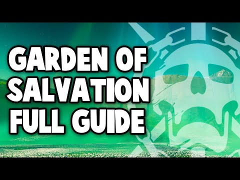 Destiny 2: Garden of Salvation Raid - Full Guide for All Encounters