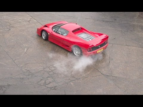 Ferrari F50 Slow Motion Burnouts