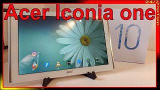 Acer Iconia one 10 Tablet - Full HD Display - DTS Sound - Unboxing - Test - Folie matt - 24/7 Tipp