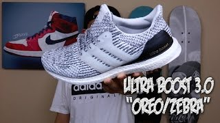 "Ultra Boost 3 0 ""Oreo/Zebra"" Review!"