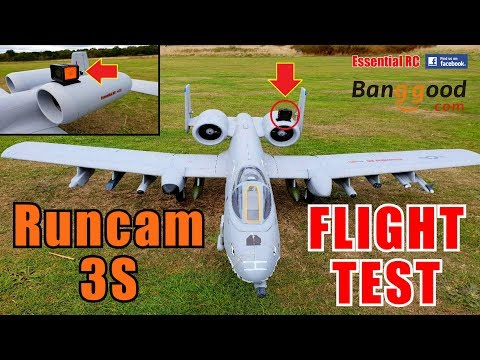 runcam-3s-action-camera-on-a10-tank-buster-rc-jet-essential-rc-flight-test