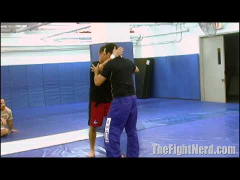 Renzo Gracie's easy clinch takedown