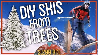DIY Skis: From Trees to Skis