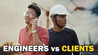 Funny Civil Engineers vs Clients | Hyderabadi Comedy Video | Warangal Diaries