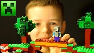 👾 МАЙНКРАФТ Мультфильмы Все Серии Подряд СБОРНИК Лего Мультики Lego minecraft
