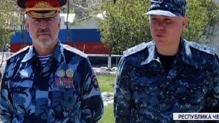 Начальник краевой полиции Александр Речицкий встретился с главой МВД Чечни Русланом Алхановым