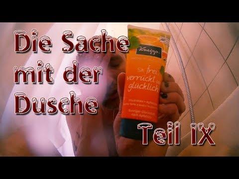 Die Sache mit der Dusche IX - Kneipp Duschgel