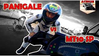 PANIGALE-V4 VS MT10-SP Castellet 3.8km