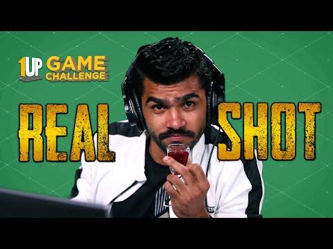Real Shot Challenge with Shreeman Legend | 1Up Game Challenge | PUBG Mobile