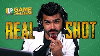 Real Shot Challenge with Shreeman Legend   1Up Game Challenge   PUBG Mobile