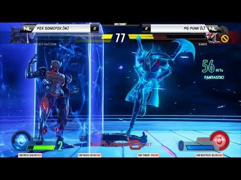 NLBC v.87 – Marvel vs Capcom Infinite GRAND FINAL – FOX SonicFox vs PG Punk [1080p/60fps]