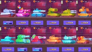 Tank Stars - Gameplay Walkthrough part 27 - All Tanks(iOS, Android)