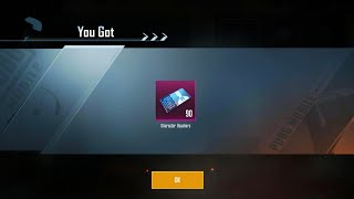 New Event to get 90 Carlo Character Vouchers in Pubg mobile || Pubg mobile 3 New Events Explained