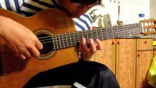 Innocent (Carrying you) - Laputa : Castle in the sky. classical guitar solo