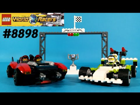 Vidéo LEGO World Racers 8898 : Le circuit infernal