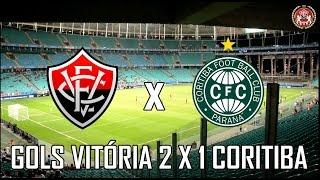 Vitória 2×1 Coritiba – Sul-Americana
