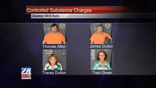 Piedmont Residents Facing Controlled Substance Charges