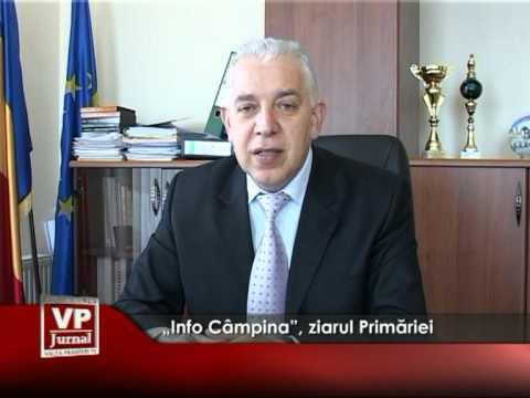 """""""Info Câmpina"""", ziarul Primăriei"""